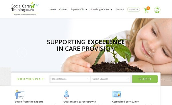 social care training ireland